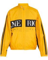 Perry Ellis - Logo Print Jacket - Lyst
