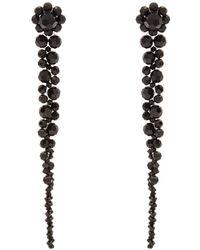Simone Rocha - Beaded-tassel Drop Earrings - Lyst