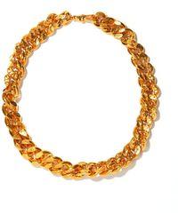 Alighieri The Dante Link 24kt Gold-plated Choker - Metallic