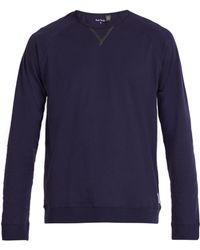 Paul Smith - Cotton Jersey Long Sleeved Pyjama T Shirt - Lyst