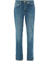 Raey Push Straight-leg Jeans - Blue