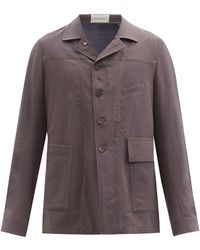 BED j.w. FORD - ウールモヘアヘリンボーン シングルジャケット - Lyst