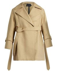 CALVIN KLEIN 205W39NYC - Kenneth Belted Trench Coat - Lyst