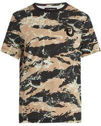 True Religion - Camouflage-print Cotton T-shirt - Lyst