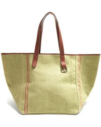 J.W.Anderson - Belt-strap Leather-trimmed Tote - Lyst