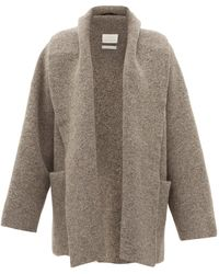 Lauren Manoogian Shawl-lapel Cardigan - Gray