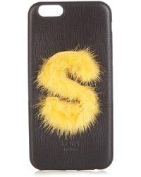 Fendi Leather Iphone® 6 Case - Multicolor