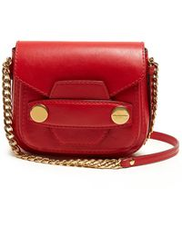 Stella McCartney - Stella Popper Small Faux-leather Cross-body Bag - Lyst