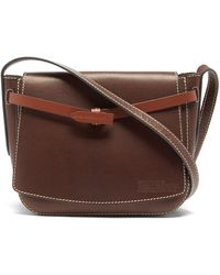 Anya Hindmarch Return To Nature Leather Satchel Bag - Brown