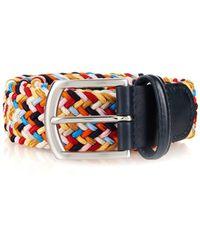 Andersons Anderson's Woven Textile Belt - Multicolour