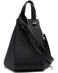 Loewe - Hammock Large Leather Tote Bag - Lyst