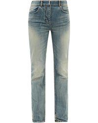 Givenchy ストレートジーンズ - ブルー