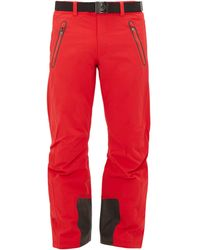 Bogner Tobi Soft Shell Ski Pants - Red