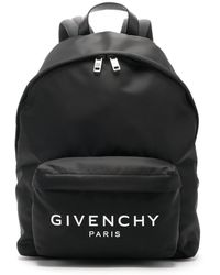 Givenchy Urban Leather-trimmed Backpack - Black
