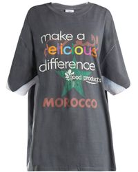 Vetements - Make A Difference-print T-shirt - Lyst