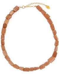 Elise Tsikis - Libertad Beaded Necklace - Lyst