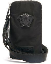 Versace メドゥーサヘッド スマートフォンバッグ - マルチカラー