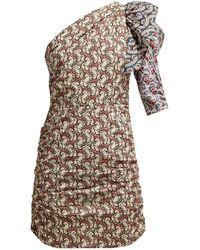 Étoile Isabel Marant Liila Paisley-print One-shoulder Dress - Multicolor