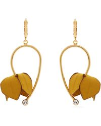 Marni - Flower Drop Earrings - Lyst