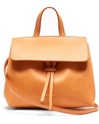 Mansur Gavriel - Mini Mini Lady Leather Cross Body Bag - Lyst