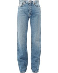 RE/DONE - Loose High Rise Denim Jeans - Lyst