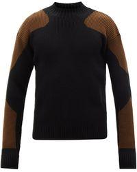 Jacquemus メリノウールブレンドセーター - ブラック