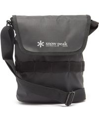 Snow Peak リップストップショルダーバッグ 2l - ブラック
