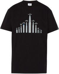 Vetements - T-shirt oversize à imprimé balles - Lyst