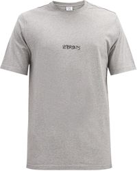 Vetements コットンtシャツ - グレー