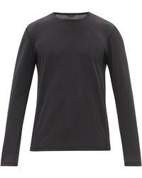 Reigning Champ トレーニング デルタピーク 90 ロングスリーブtシャツ - ブラック