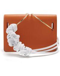 ROKSANDA - Dia Leather Knotted Shoulder Bag - Lyst