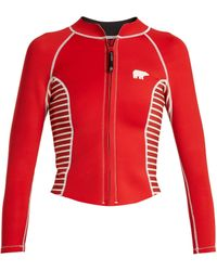 Perfect Moment   Neo Cropped Rash Guard   Lyst