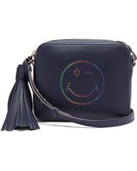 Anya Hindmarch - Rainbow Wink Leather Cross Body Bag - Lyst