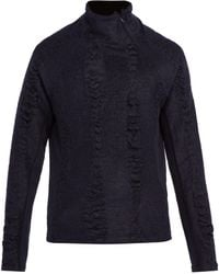 Cottweiler - Cave Merino Wool And Mohair High-neck Jumper - Lyst