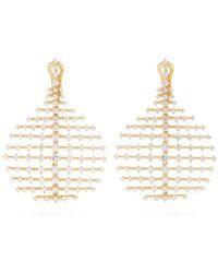 Fernando Jorge - Diamond & Yellow-gold Disco Earrings - Lyst