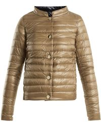 Herno | Reversible Quilted Down Jacket | Lyst
