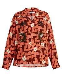 Toga - Floral Abstract-print Shirt - Lyst