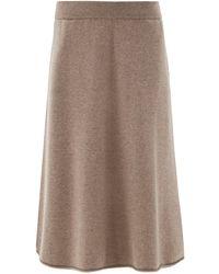 Extreme Cashmere ニットスカート - ブラウン