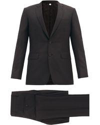 Burberry - ウールモヘア シングルスーツ - Lyst