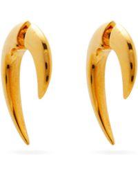 Shaun Leane Talon Gold-vermeil Earrings - Metallic
