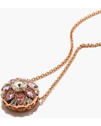 Selim Mouzannar Beirut Diamond, Sapphire & 18kt Gold Necklace - Metallic