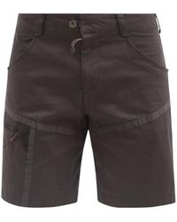 Klättermusen Gefjon Organic-cotton Blend Climbing Shorts - Black