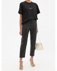 Stella McCartney 2001 コットンtシャツ - ブラック