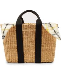 Muuñ Caba Straw Bag - Multicolour