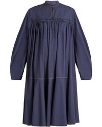 ROKSANDA - Soraya Gathered Dress - Lyst