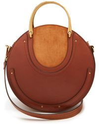 Chloé | Pixie Suede And Leather Cross-body Bag | Lyst
