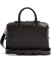 Lanvin - Leather Briefcase - Lyst