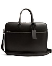 Valextra - Grained-leather Holdall - Lyst
