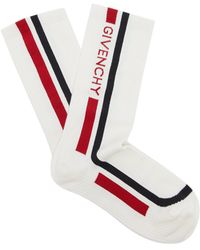 Givenchy - Logo-intarsia Sports Socks - Lyst