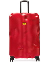 Crash Baggage Stripe 79cm Suitcase - Red